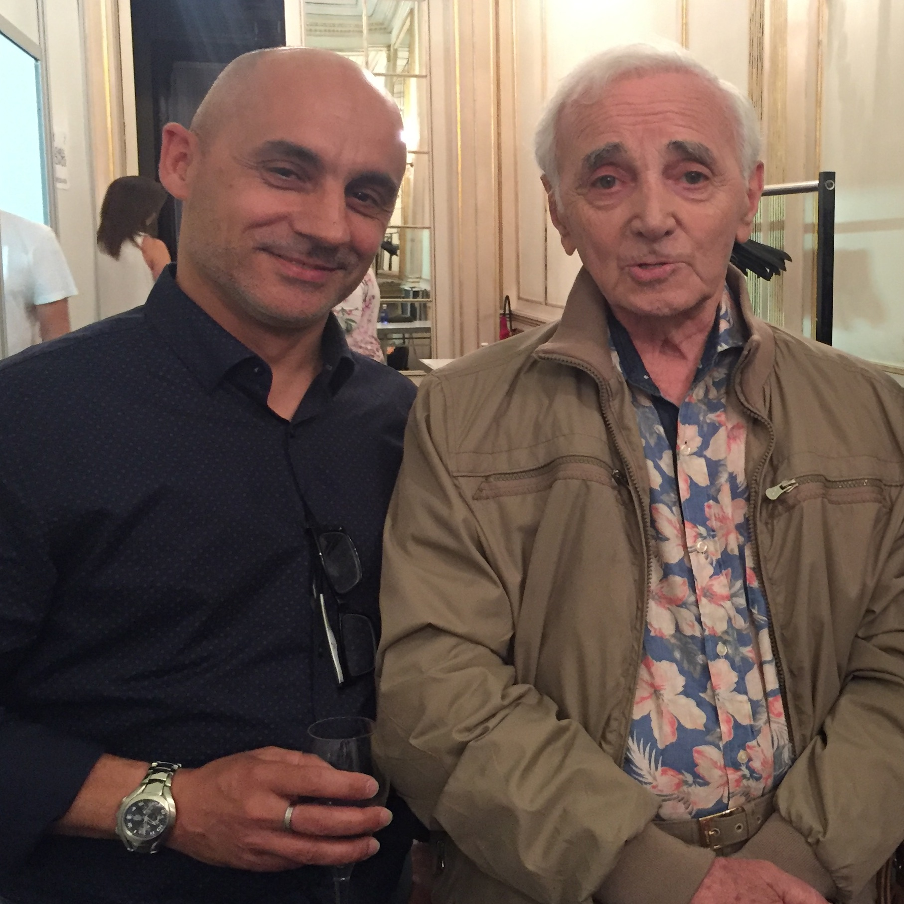 Meeting Charles Aznavour